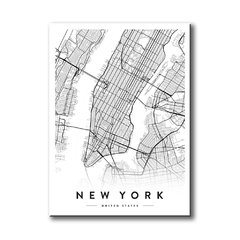 New York City Map - comprar online