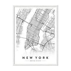 New York City Map - tienda online