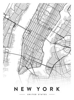 New York City Map en internet