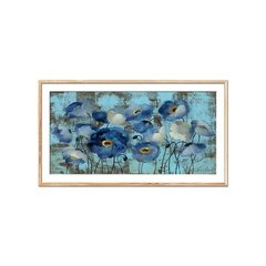 Aquamarine Flora on Blue - comprar online