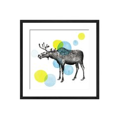 Sketchbook Lodge Moose - Sur Arte Shop - Cuadros