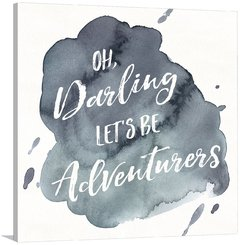 Watercolor Wanderlust Adventure I