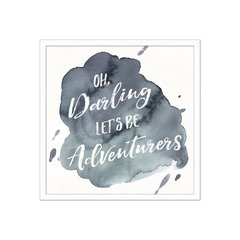 Watercolor Wanderlust Adventure I - Sur Arte Shop - Cuadros