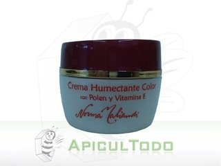 CREMA HUMECTANTE COLOR CON POLEN