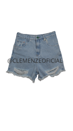 Shorts Mom Jeans Destroyed | CLARO