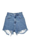 Shorts Mom Jeans Destroyed