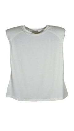 Muscle Tee | Off White - comprar online