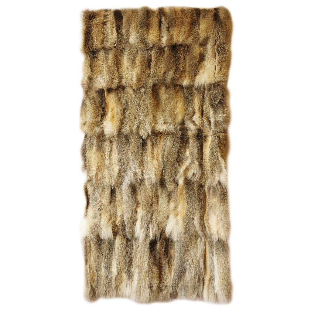 Mantas de piel de zorro pituca pieles cueros pituca - Mantas de piel ...