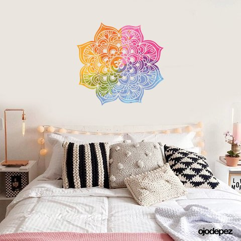 Home 012 | Mandala watercolor