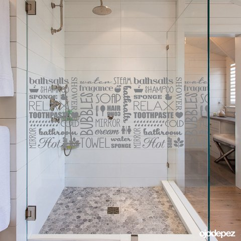 Vinilos decorativos Vinilos adhesivos Wall Art Stickers wall stickers bathroom