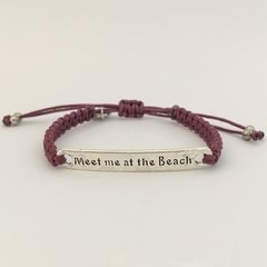 Pulseira Meet me at the Beach - Amica Mia