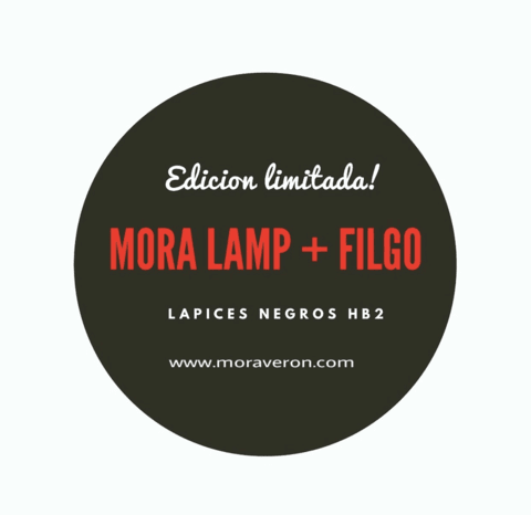 Limited Edition Mora Lamp Cuadrada