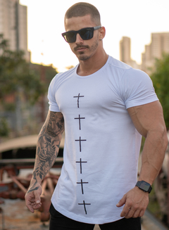 T-Shirt - Cross Line