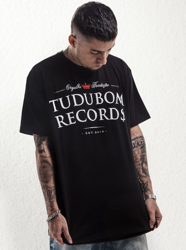 CAMISETA BRASÃO TUDUBOM RECORDS na internet