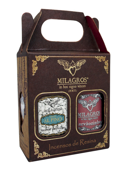 Mini Kit Incenso Liturgico Grego Alpino