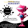 Tinta Sensient Formulabs Quatrocolor para Bulk Ink impressora Brother (4x1000 ml) na internet