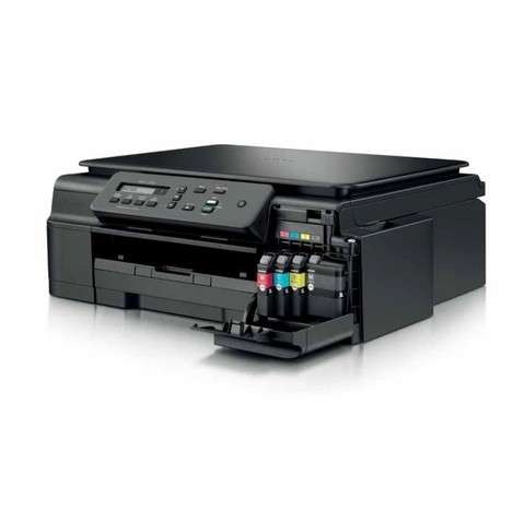 Impressora Brother Dcp J105 Multifuncional A4 com Bulk ink e cartuchos originais