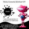 Tinta Corante UV Quatrocolor para Bulk Ink impressora Brother (4x100 ml) na internet