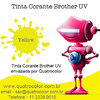 Imagem do Tinta Corante UV Quatrocolor para Bulk Ink impressora Brother (4x100 ml)