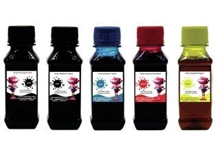 Tinta Corante UV Quatrocolor para Bulk Ink impressora Brother (5x1000 ml)