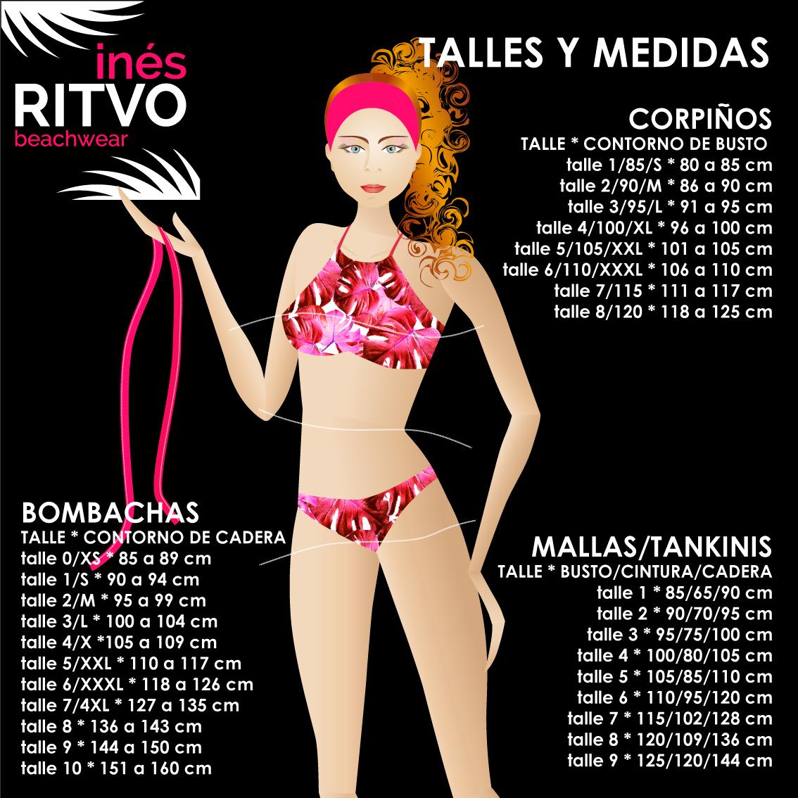 Talles Y Bikinis Talles Bikinis Mallas Medidas Y Medidas pLUMqSzVG