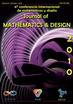 Journal Of Mathematics and Desing Vol. 2010 - Edición Especial