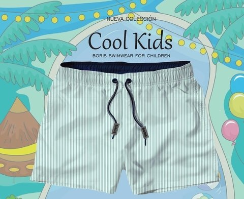 Kids Aquamarine Lined