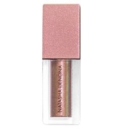 Natasha Denona Chromium Liquid Eyeshadow Infra Nude - gold, yellow, red, pink metallic