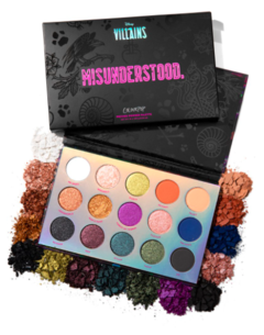 D Villains Misunderstood palette en internet