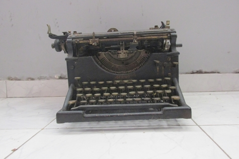 Antigua maquina de escribir Underwood Elliott Fisher 1915 - comprar online