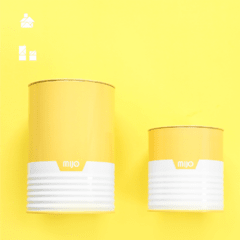 SET DE LATAS AMARILLO