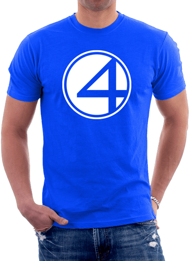 4 Fantasticos - Remeras Color Animal