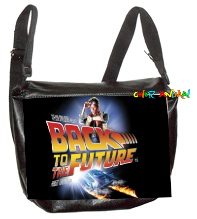 Morral de Cuerina Back to the Future