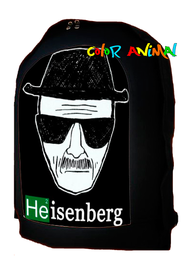 Mochila Breaking Bad Heisenberg