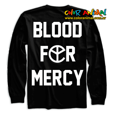 Buzo Yellow Claw Blood For Mercy - comprar online