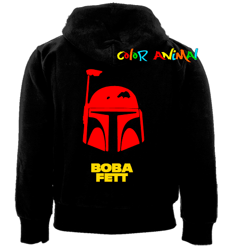 Campera Casco Boba Fett Star Wars