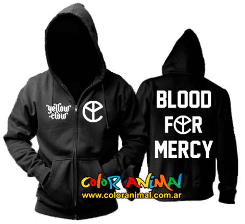 Campera Yellow Claw Blood For Mercy