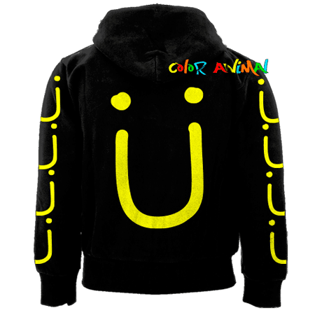 Campera Logo Jack Ü Color Animal - comprar online