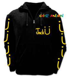 Campera Logo Jack Ü Color Animal