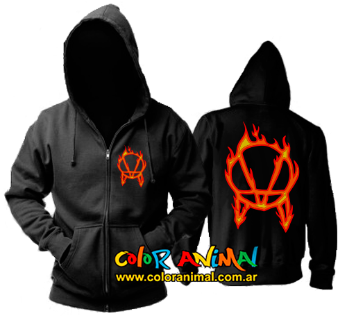 Campera OWSLA Red Flames