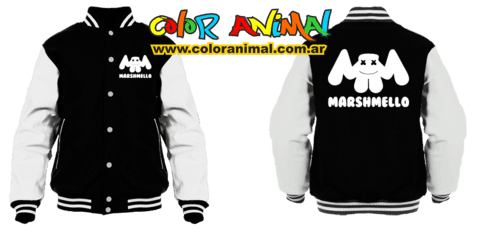 Marshmello Campera Universitaria