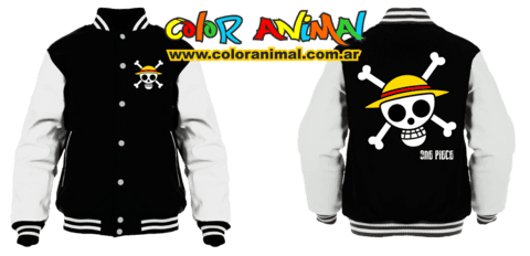 One Piece Campera Universitaria