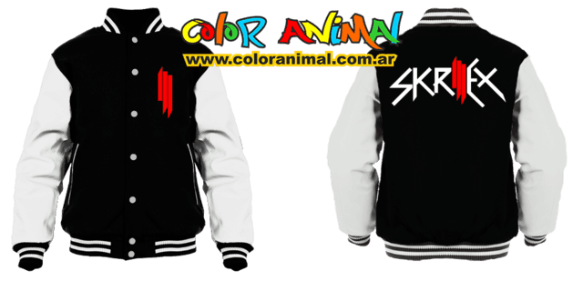 Skrillex Logo CAMPERA UNIVERSITARIA