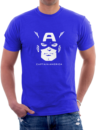Capitan America - Remeras Color Animal