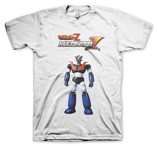 Color Animal  Mazinger Z Anime  Remera 100% Modal