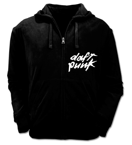 Logo Daft Punk Camperas Color Animal