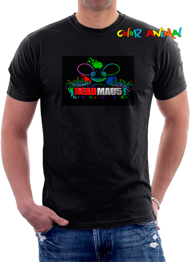 Deadmau5 Remeras Color Animal