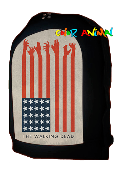 Mochila The Walking Dead Flag Color Animal