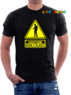 Freddy Krueger Caution Don´t Sleep Remeras Color Animal