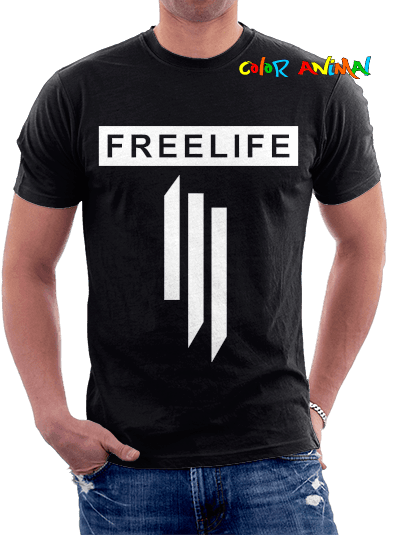 Skrillex Freelife Remeras Color Animal